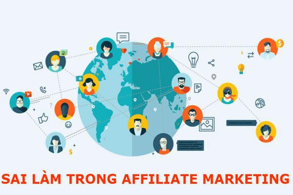 5 Sai lầm thường gặp trong Affitilate marketing cho người mới bắt đầu.