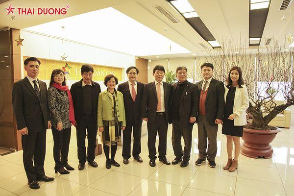 Sao Thái Dương vinh dự được hợp tác cùng Hiệp hội Doanh Nghiệp mỹ phẩm đảo JeJu Hàn Quốc