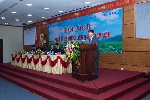 Sao Thái Dương tham gia Hội nghị phát triển dược liệu vùng Tây Bắc.