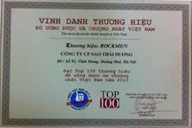 Rượu Rockmen được vinh danh thương hiệu đồ uống ưa chuộng nhất Việt Nam 2013