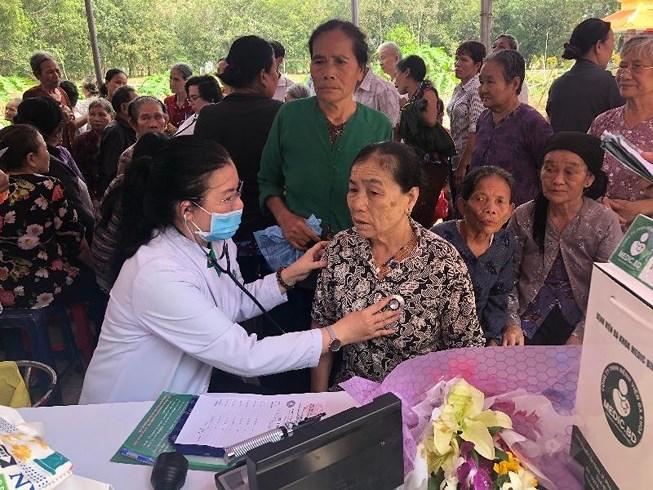Sao Thái Dương chung tay thiện nguyện vì sức khỏe cộng đồng