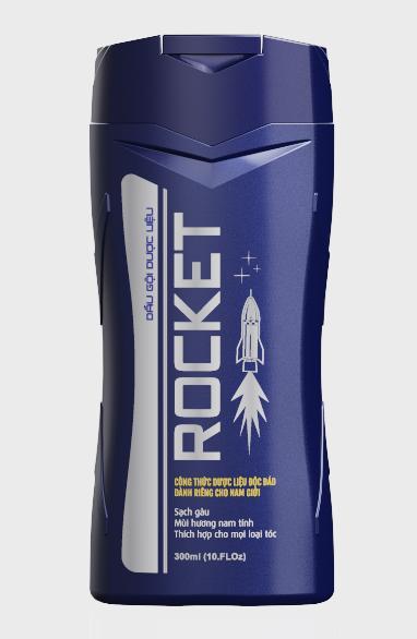 Dầu Gội Dược Liệu Rocket (chai 300ml)