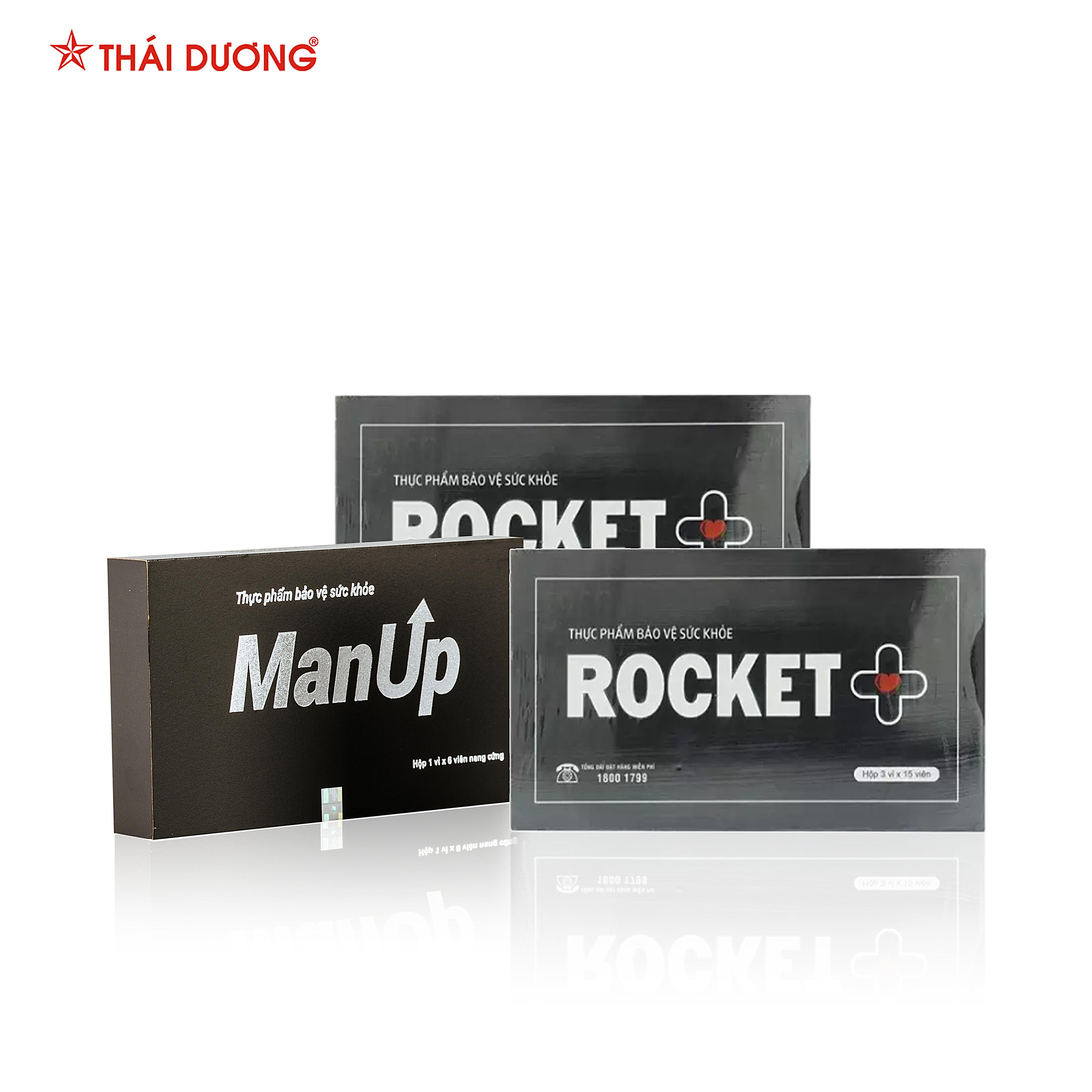 Combo Tăng cường sinh lực phái mạnh (01 TPBVSK Manup và 02 TPBVSK Rocket +